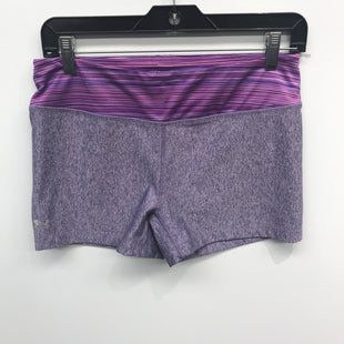 Primary Photo - BRAND: UNDER ARMOUR STYLE: ATHLETIC SHORTS COLOR: PURPLE SIZE: M SKU: 205-205250-74317
