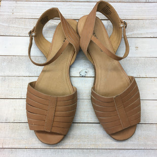 Primary Photo - BRAND: LUCKY BRAND STYLE: SANDALS FLAT COLOR: BROWN SIZE: 12 SKU: 205-205318-3836
