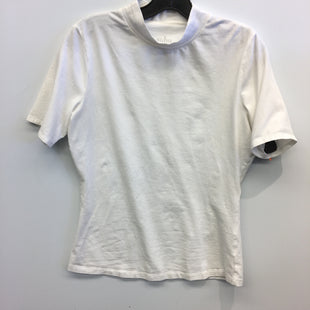 Primary Photo - BRAND: NEW YORK AND CO STYLE: TOP SHORT SLEEVE BASIC COLOR: WHITE SIZE: M SKU: 205-205318-3081