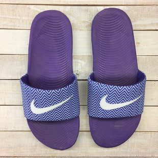 Primary Photo - BRAND: NIKE STYLE: FLIP FLOPS COLOR: PURPLE SIZE: 8 SKU: 205-205250-75179