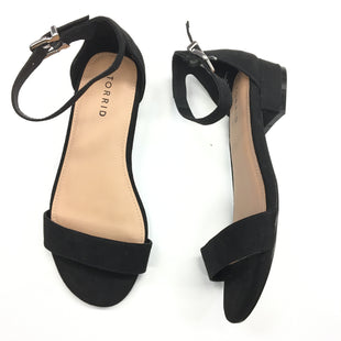 Primary Photo - BRAND: TORRID STYLE: SANDALS FLAT COLOR: BLACK SIZE: 7.5 SKU: 205-205250-68181