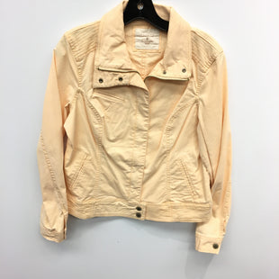 Primary Photo - BRAND: SONOMA STYLE: JACKET OUTDOOR COLOR: PEACH SIZE: M SKU: 205-205299-17568