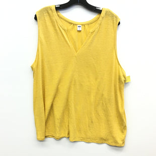 Primary Photo - BRAND: OLD NAVY STYLE: TOP SLEEVELESS COLOR: YELLOW SIZE: XXL SKU: 205-205250-67831