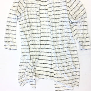 Primary Photo - BRAND: LANE BRYANT STYLE: SWEATER CARDIGAN LIGHTWEIGHT COLOR: GREY WHITE SIZE: 26 SKU: 205-205299-14756