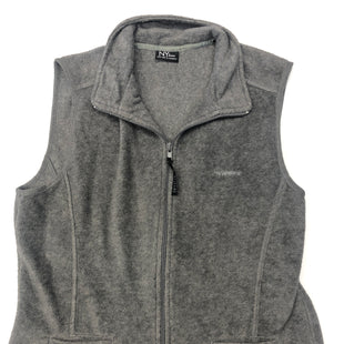 Primary Photo - BRAND: NEW YORK AND CO STYLE: VEST FLEECE COLOR: GREY SIZE: M SKU: 205-205299-11747