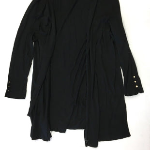 Primary Photo - BRAND: TALBOTS O STYLE: SWEATER CARDIGAN LIGHTWEIGHT COLOR: BLACK SIZE: 3X SKU: 205-205250-58914