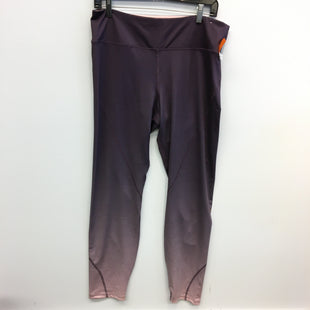 Primary Photo - BRAND:    CLOTHES MENTOR STYLE: ATHLETIC PANTS COLOR: PURPLE SIZE: XL OTHER INFO: SHAPE - SKU: 205-205318-3775