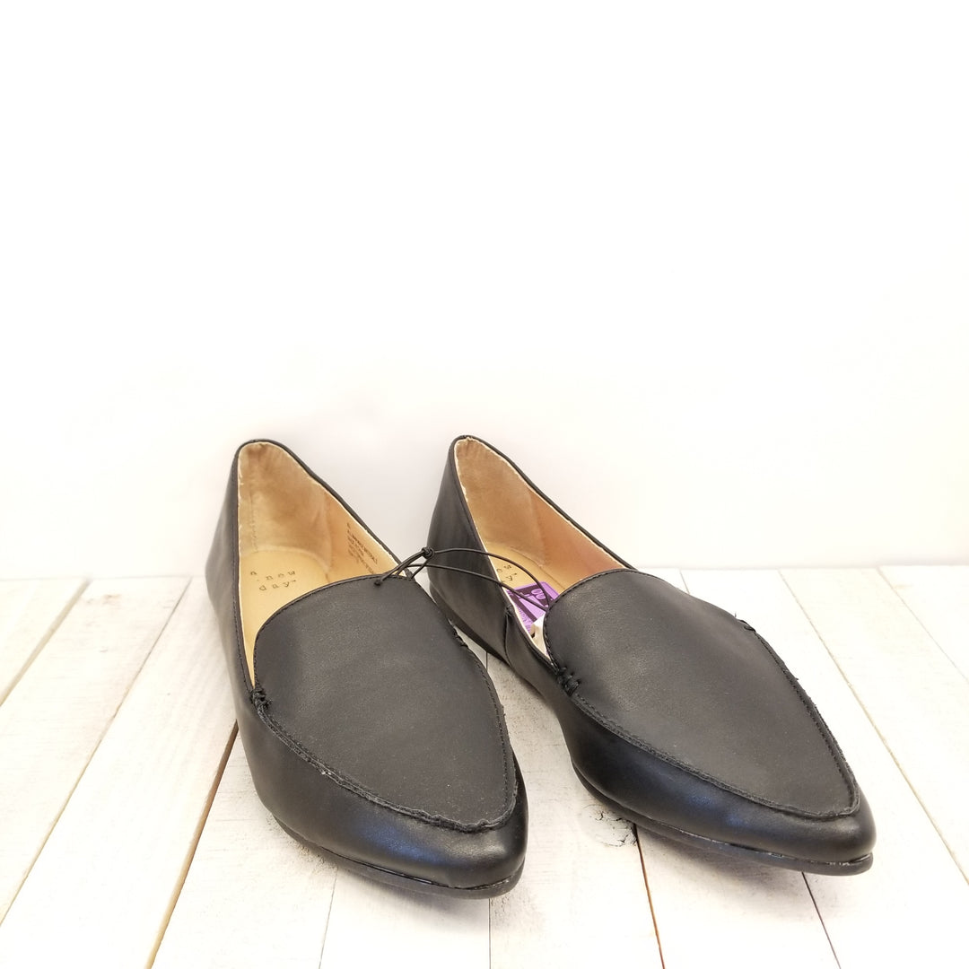 Primary Photo - BRAND: A NEW DAY <BR>STYLE: SHOES FLATS <BR>COLOR: BLACK <BR>SIZE: 8.5 <BR>SKU: 205-205250-61584