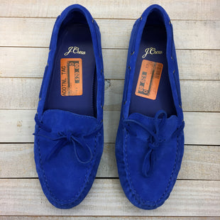 Primary Photo - BRAND: J CREW STYLE: SHOES FLATS COLOR: BLUE SIZE: 9.5 SKU: 205-205250-76923