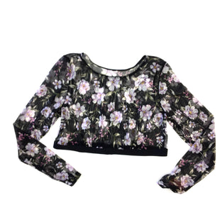 Primary Photo - BRAND:    CLOTHES MENTOR STYLE: TOP LONG SLEEVE COLOR: FLORAL SIZE: 1X SKU: 205-205250-56112