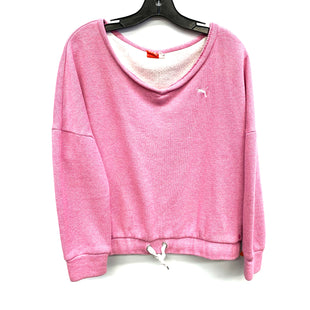 Primary Photo - BRAND: PUMA STYLE: SWEATSHIRT HOODIE COLOR: PINK SIZE: L SKU: 205-205283-805