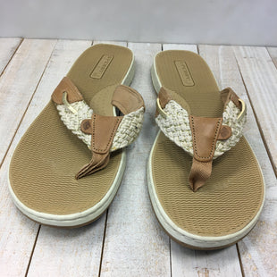 Primary Photo - BRAND: SPERRY STYLE: FLIP FLOPS COLOR: BROWN SIZE: 9.5 SKU: 205-205299-17104