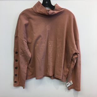 Primary Photo - BRAND: MADEWELL STYLE: TOP LONG SLEEVE COLOR: ORANGE SIZE: XL SKU: 205-205250-78040