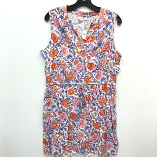 Primary Photo - BRAND: GAP STYLE: DRESS SHORT SLEEVELESS COLOR: FLORAL SIZE: L SKU: 205-205250-74825