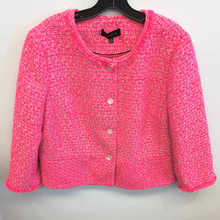 Primary Photo - BRAND: TALBOTS STYLE: JACKET OUTDOOR COLOR: PINK SIZE: 16 SKU: 205-205280-17806