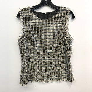 Primary Photo - BRAND: ANN TAYLOR STYLE: TOP SLEEVELESS COLOR: BLACK WHITE SIZE: 8 SKU: 205-205250-71007
