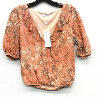 Primary Photo - BRAND: SAGE STYLE: TOP SHORT SLEEVE COLOR: MULTI SIZE: XS SKU: 205-205318-1394
