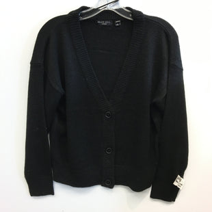 Primary Photo - BRAND:    CLOTHES MENTOR STYLE: SWEATER CARDIGAN LIGHTWEIGHT COLOR: BLACK SIZE: XS OTHER INFO: BRAVE SOUL - SKU: 205-205250-76547