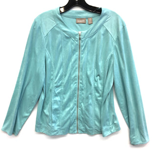 Primary Photo - BRAND: CHICOS STYLE: JACKET OUTDOOR COLOR: LIGHT BLUE SIZE: L SKU: 205-205299-8377