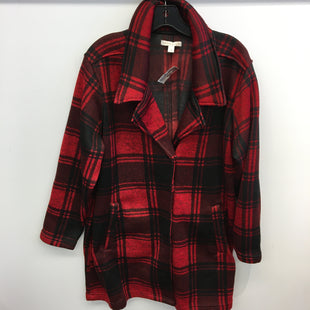 Primary Photo - BRAND: WESTPORT 1962 STYLE: JACKET OUTDOOR COLOR: RED BLACK SIZE: 1X SKU: 205-205250-72874