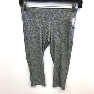 Primary Photo - BRAND: NEW BALANCE STYLE: ATHLETIC CAPRIS COLOR: GREY SIZE: S SKU: 205-205280-14926