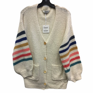 Primary Photo - BRAND:    CLOTHES MENTOR STYLE: SWEATER CARDIGAN LIGHTWEIGHT COLOR: MULTI SIZE: S OTHER INFO: DAVI AND DANI - SKU: 205-205250-75288