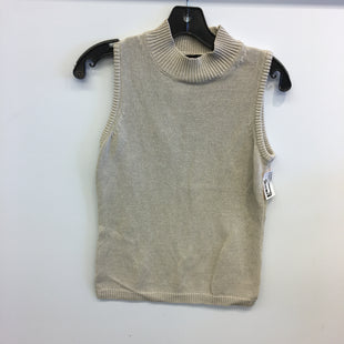 Primary Photo - BRAND: ANN TAYLOR STYLE: TOP SLEEVELESS COLOR: BROWN SIZE: S SKU: 205-205250-75892