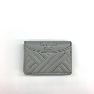 Primary Photo - BRAND: TORY BURCH STYLE: HANDBAG DESIGNER COLOR: GREY SIZE: SMALL OTHER INFO: WALLET DESIGNER SKU: 205-205318-2189