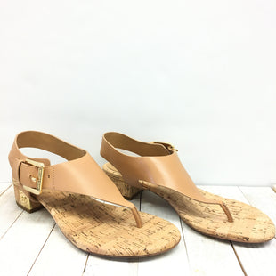 Primary Photo - BRAND: MICHAEL BY MICHAEL KORS STYLE: SHOES DESIGNER COLOR: BROWN SIZE: 8 OTHER INFO: DESIGNER SKU: 205-205250-60539