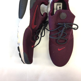 Primary Photo - BRAND: NIKE STYLE: SHOES ATHLETIC COLOR: MAROON SIZE: 7.5 SKU: 205-205299-14468