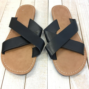 Primary Photo - BRAND: CHARLOTTE RUSSE STYLE: SANDALS FLAT COLOR: BLACK SIZE: 6 SKU: 205-205299-15170