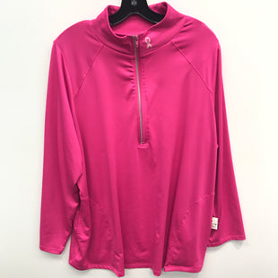 Primary Photo - BRAND: FILA STYLE: ATHLETIC JACKET COLOR: PINK SIZE: S SKU: 205-205250-72353