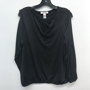 Primary Photo - BRAND: WHITE HOUSE BLACK MARKET STYLE: TOP LONG SLEEVE COLOR: BLACK SIZE: M SKU: 205-205250-76504