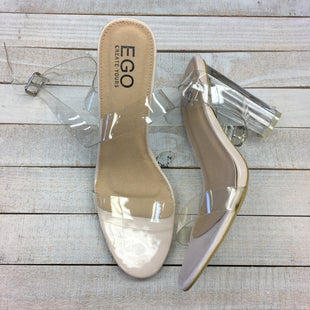Primary Photo - BRAND:    CLOTHES MENTOR STYLE: SANDALS HIGH COLOR: CLEAR SIZE: 9 OTHER INFO: EGO - SKU: 205-205250-75166