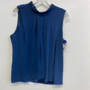 Primary Photo - BRAND: WHITE HOUSE BLACK MARKET STYLE: TOP SLEEVELESS COLOR: BLUE SIZE: L SKU: 205-205318-3946