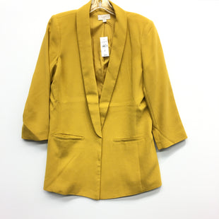 Primary Photo - BRAND: ANN TAYLOR LOFT O STYLE: BLAZER JACKET COLOR: YELLOW SIZE: 4 SKU: 205-205250-64534