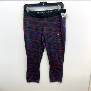 Primary Photo - BRAND: NIKE APPAREL STYLE: ATHLETIC CAPRIS COLOR: MULTI SIZE: L SKU: 205-205318-294