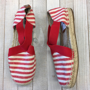 Primary Photo - BRAND: MICHAEL BY MICHAEL KORS STYLE: SHOES FLATS COLOR: RED WHITE SIZE: 8 SKU: 205-205299-16382