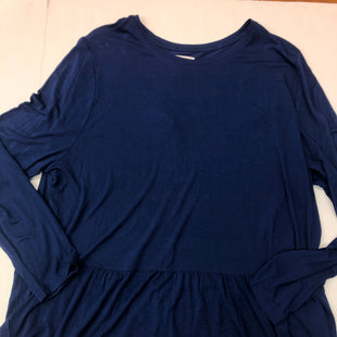 Primary Photo - BRAND: OLD NAVY STYLE: TOP LONG SLEEVE BASIC COLOR: BLUE SIZE: 2X SKU: 205-205318-370