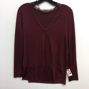 Primary Photo - BRAND: ZARA BASIC STYLE: TOP LONG SLEEVE COLOR: RED SIZE: M SKU: 205-205318-3850
