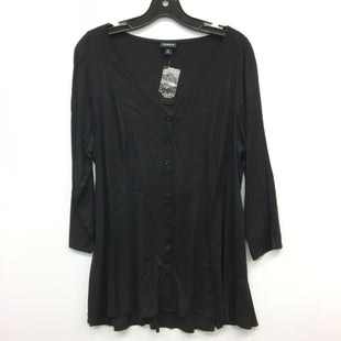 Primary Photo - BRAND: TORRID STYLE: TOP LONG SLEEVE COLOR: BLACK SIZE: L SKU: 205-205318-2650