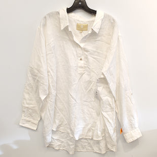 Primary Photo - BRAND: LAUREN JAMES STYLE: TOP LONG SLEEVE COLOR: WHITE SIZE: XL SKU: 205-205318-3318