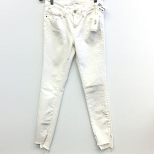Primary Photo - BRAND: FRAME STYLE: PANTS COLOR: WHITE SIZE: 4 SKU: 205-205318-1672