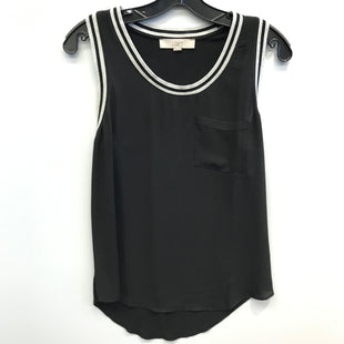 Primary Photo - BRAND: ANN TAYLOR LOFT STYLE: TOP SLEEVELESS COLOR: BLACK WHITE SIZE: S SKU: 205-205250-64187