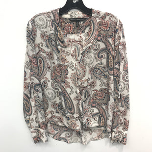 Primary Photo - BRAND: WHITE HOUSE BLACK MARKET STYLE: TOP LONG SLEEVE COLOR: MULTI SIZE: 10 SKU: 205-205250-76498