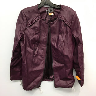 Primary Photo - BRAND: DENIM AND COMPANY STYLE: JACKET OUTDOOR COLOR: PURPLE SIZE: M SKU: 205-205250-74871