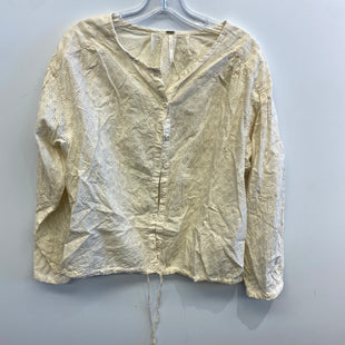 Primary Photo - BRAND: FREE PEOPLE STYLE: TOP LONG SLEEVE COLOR: OFF WHITE SIZE: M SKU: 205-205250-76045