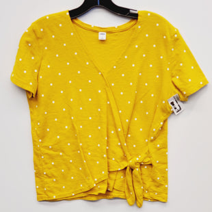 Primary Photo - BRAND: OLD NAVY STYLE: TOP SHORT SLEEVE COLOR: POLKADOT SIZE: S SKU: 205-205299-14204