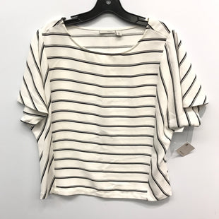 Primary Photo - BRAND: HALOGEN STYLE: TOP SHORT SLEEVE COLOR: STRIPED SIZE: XS SKU: 205-205318-1216