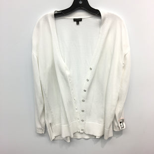 Primary Photo - BRAND: TALBOTS STYLE: SWEATER CARDIGAN LIGHTWEIGHT COLOR: WHITE SIZE: M SKU: 205-205250-75972